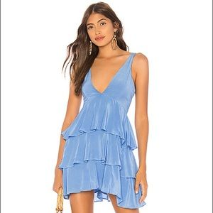 Blue Privacy Please Mini Dress - open to offers!